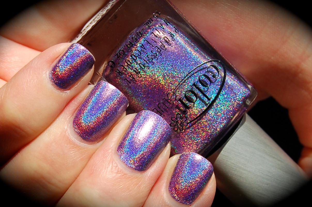 Swatch of Color Club Eternal Beauty, Color Club Halo Hues 2013,blog, nail polish, blogg nagellack
