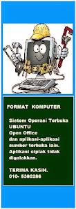 FORMAT KOMPUTER ANDA