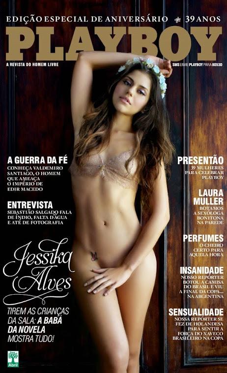 Jéssica Alves - Playboy de Agosto