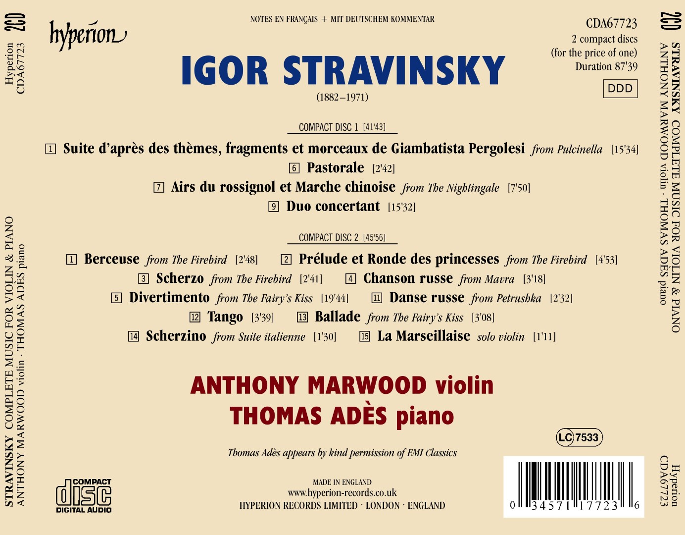 igor stravinskys influence on modern music Igor stravinsky reading a musical score during a rehearsal  a generation, and  yet his influence and his legacy still seems so contemporary.