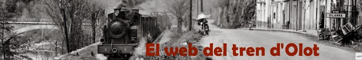 El web del tren d'Olot