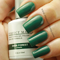 LeChat Perfect Match Gel Polish Dark Forest Swatch
