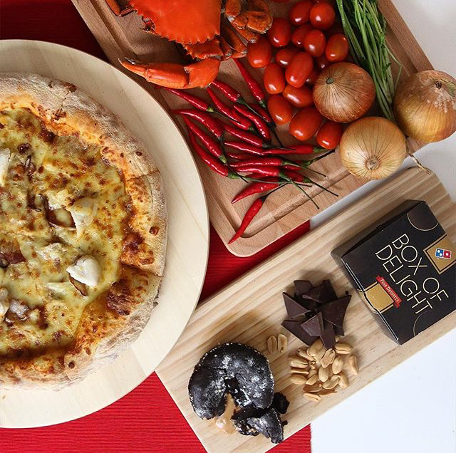 Domino's Chilli Crab Pizza Deal!