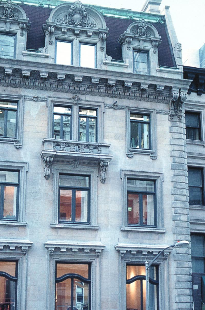 Alberta Ferretti building on 56th street New York