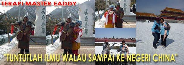 TM.Eaddy di Beijing CHINA>>>>>>>>>>>>>>Melancong Sambil Belajar Terapi Master
