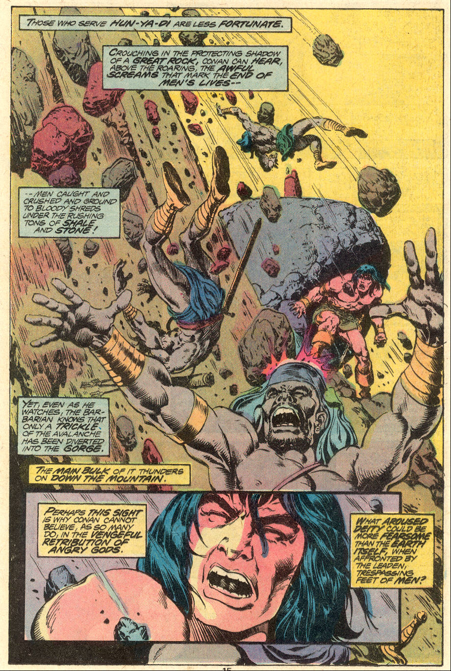 Conan the Barbarian (1970) Issue #79 #91 - English 10