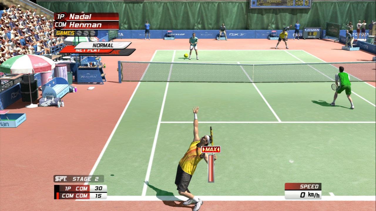 3D Tenis Şampiyonları Oyunu