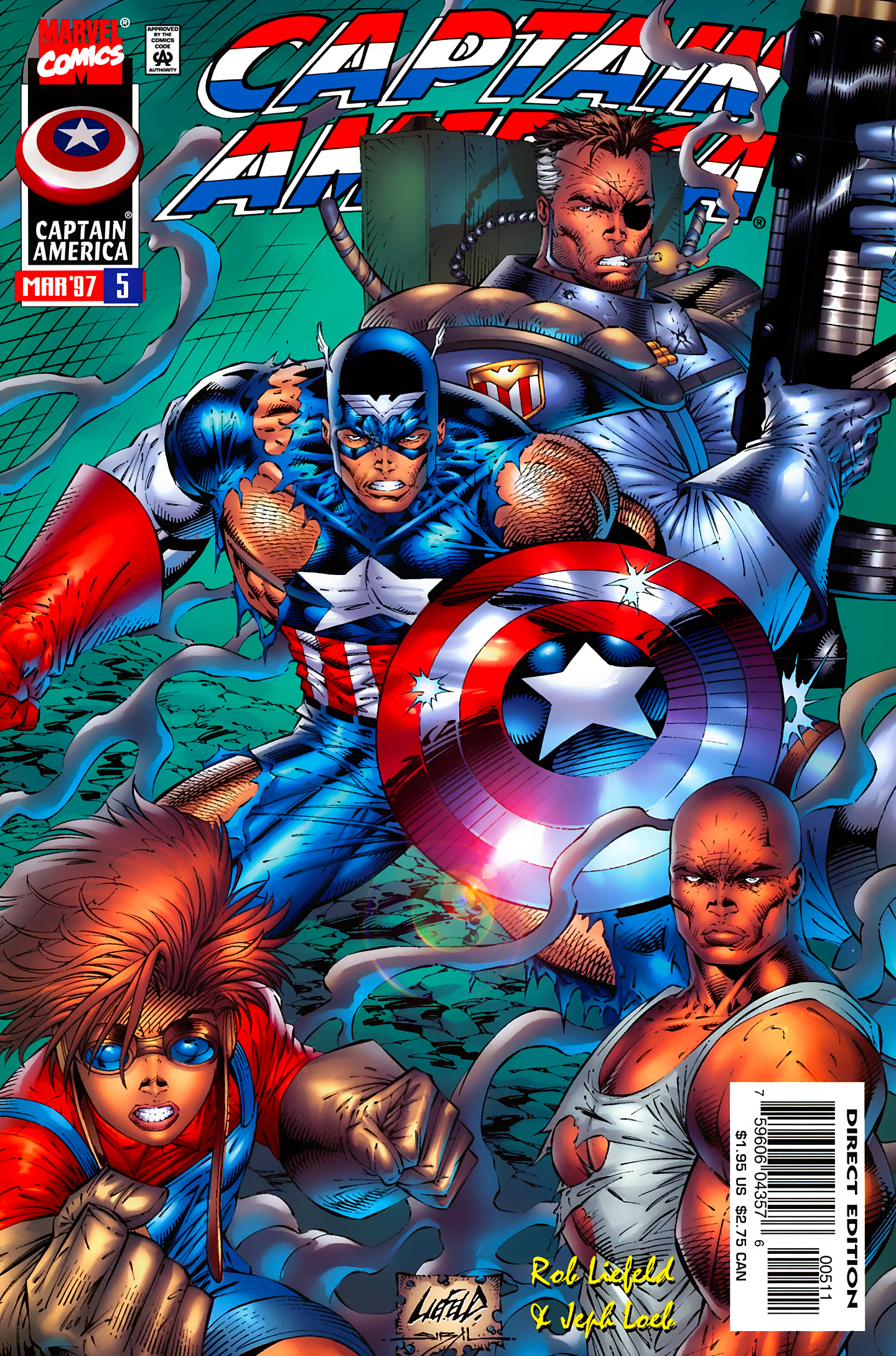 Captain America (1996) Issue #5 #5 - English 1