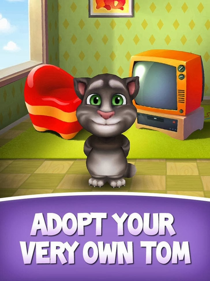 My Talking Tom App iTunes App By Out Fit 7 Ltd - FreeApps.ws