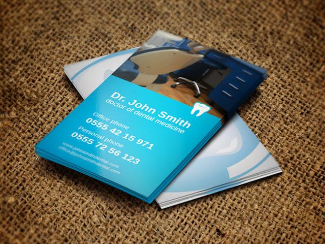 mẫu card visit đơn giản 5