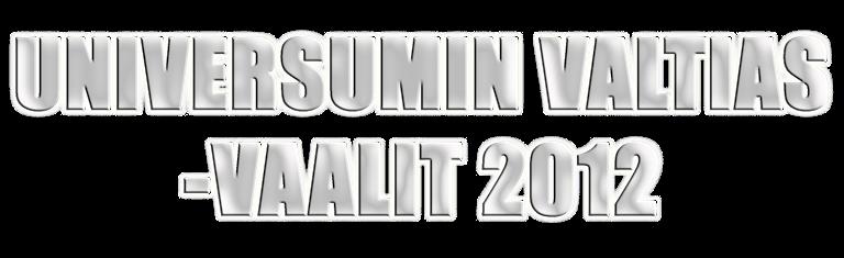 Universumin Valtias -vaalit 2012