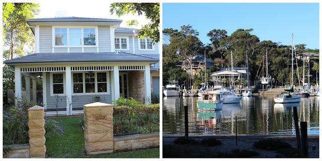Hampton style beach house plans
