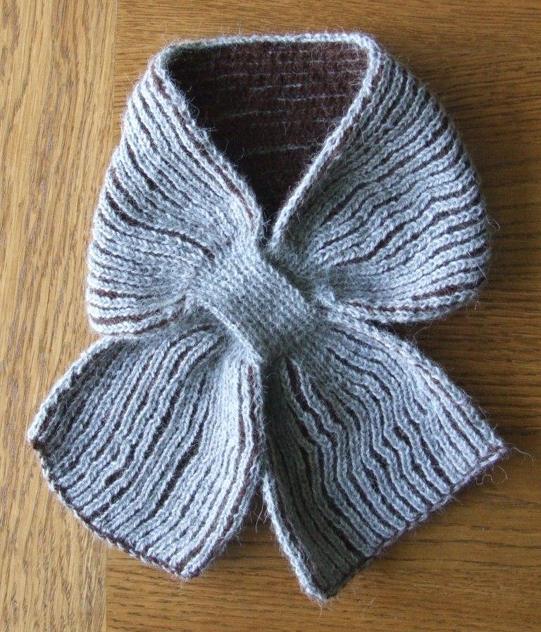 Knitting Brioche Stitch Scarf : Knitting Now and Then: A Brioche Stitch Scarf