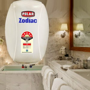 Polar 25L Storage Geyser – Zodiac | Buy Polar Zodiac 25L Storage Geyser Online - Pumpkart.com
