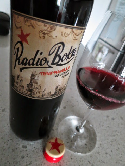 Wine Review of 2012 Radio Boka Tempranillo from DO Valencia, Spain