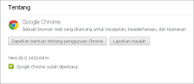 google chrome versi 26.0.1410.64 m