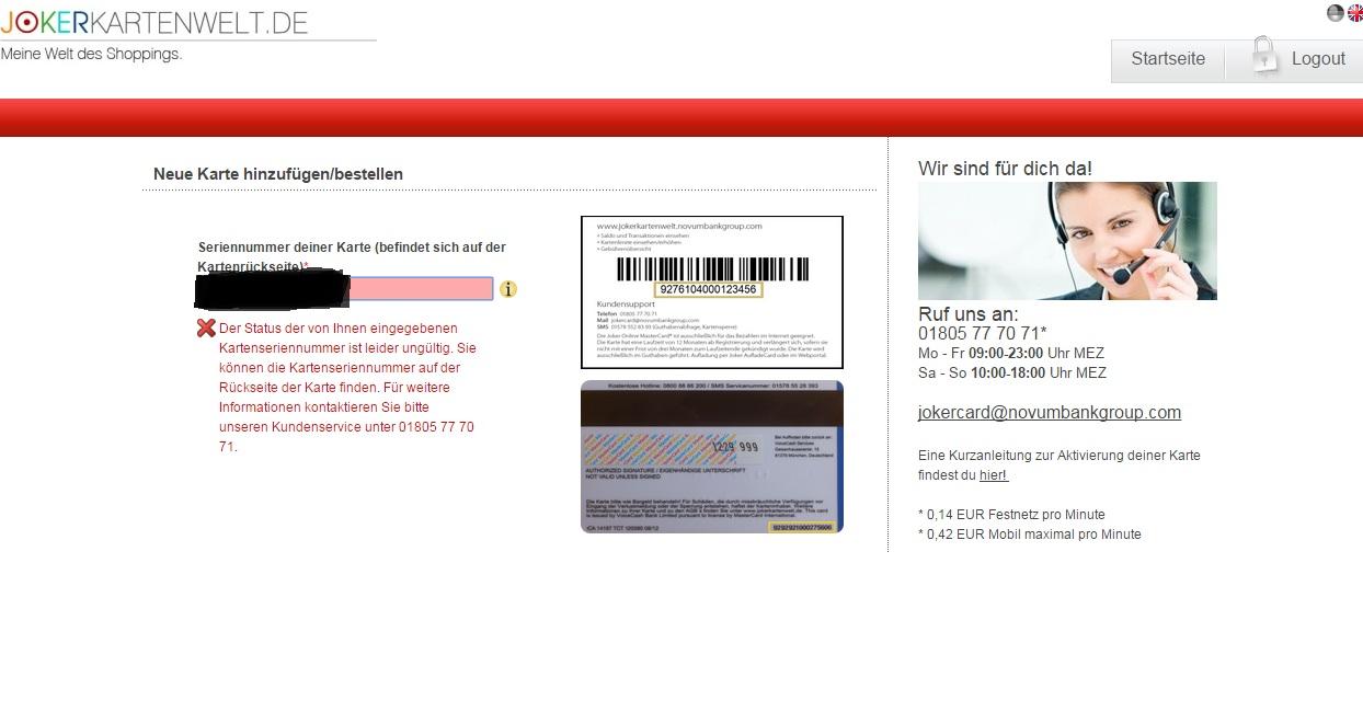 prepaid kreditkarten test karten registrierung. Black Bedroom Furniture Sets. Home Design Ideas