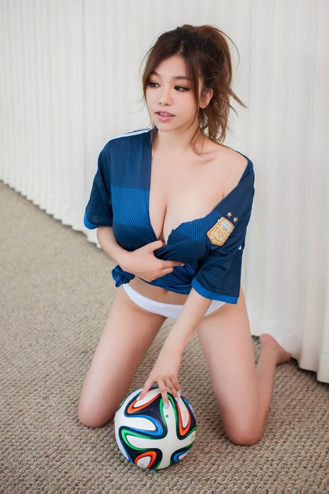 Foto Wags Fan Cantik Suporter Argentina Di Final Piala Dunia