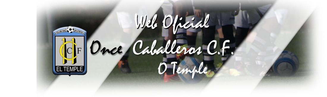 WEB OFICIAL ONCE CABALLEROS C.F.