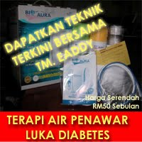 TERAPI AIR PENAWAR LUKA DIABETES - 90 HARI