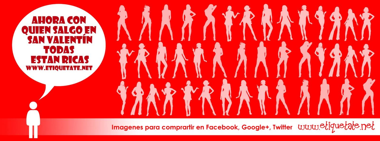Portadas para facebook creativas para san valentin