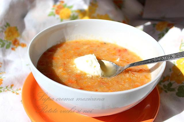 Supa crema mexicana in congelator Arctic