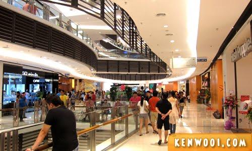 paradigm mall walkway