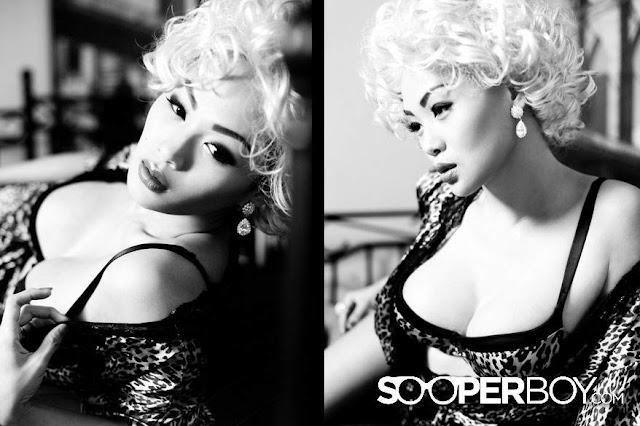 Indah Kalalo for Sooperboy, December 2012