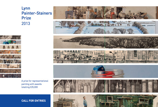 Cover of Lynn Painter Stainers Prize Call for Entries Leaflet