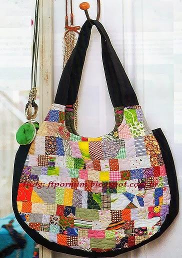 Bolsa De Tecido Linda : Feito por mim artesanato para iniciantes linda bolsa