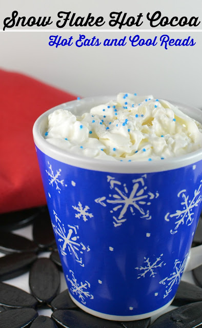 The perfect winter time treat, especially during the holidays! Rich, creamy and a great alternative to traditional hot cocoa! Slow Cooker Snow Flake Hot Cocoa Recipe from Hot Eats and Cool Reads