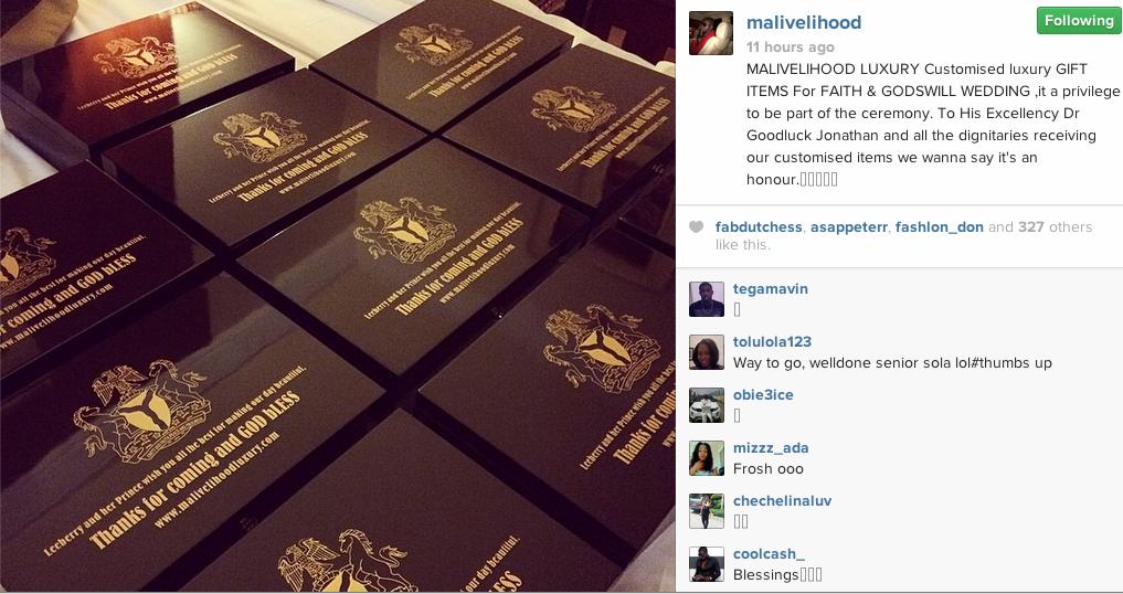 Goodluck Daughter Wedding Gift : HITZONTV: Pres. Jonathan Gives Guests At His Daughters Weddiing 24 ...