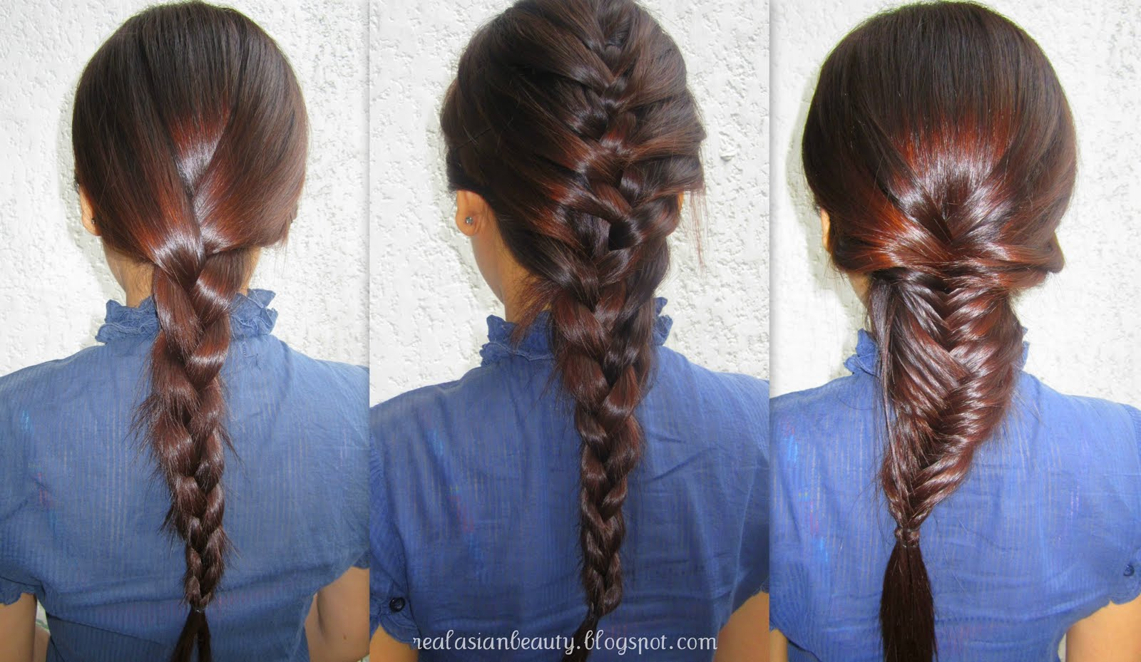 Real Asian Beauty Three Ways To Braid Your Hair