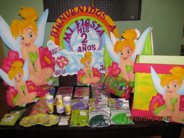 FIGURAS CAMPANITA - TINKER BELL CON ICOPOR  Fiestas infantiles ...