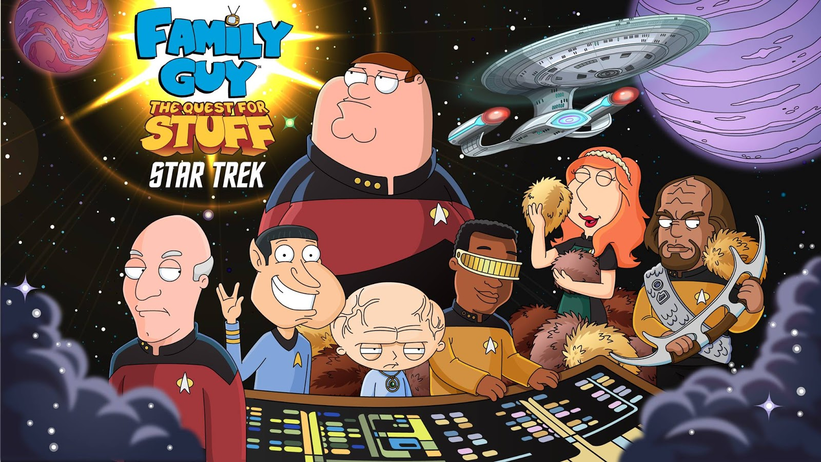 the trek collective family guy quests for stuff on the