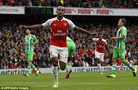 Highlights Arsenal 1 – 0 Wolfsburg (Emirates Cup)