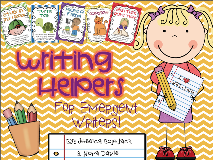http://www.teacherspayteachers.com/Product/Writing-Helpers-for-Emergent-Writers-1152596
