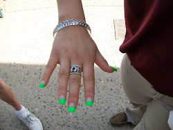 Paddy's Day Nails.