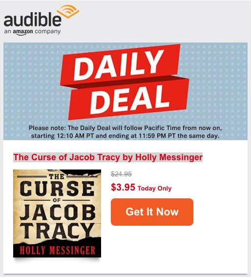 CJT Daily Deal on Audible.com!