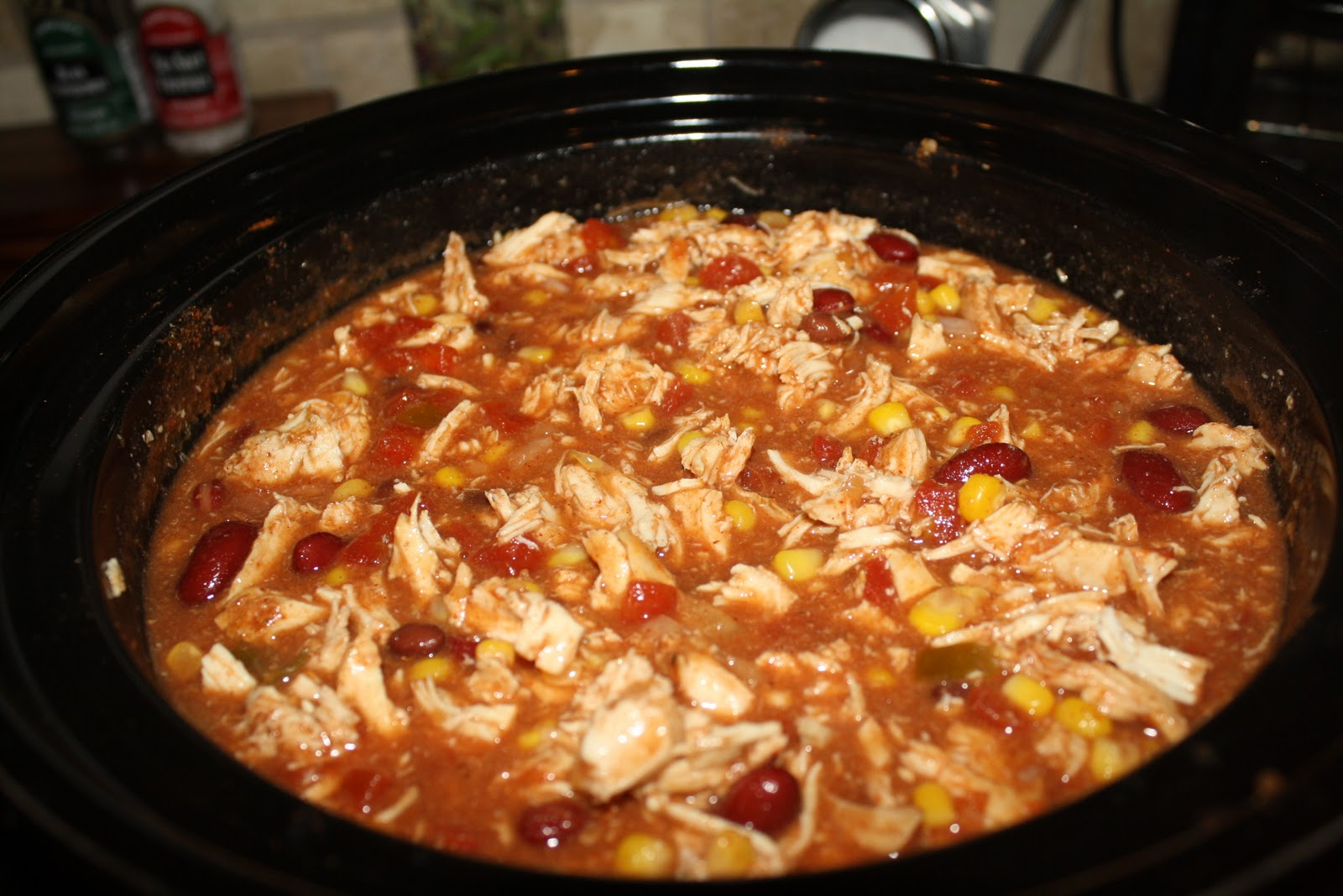 Crock Pot Chicken Taco Chili Recipe — Dishmaps