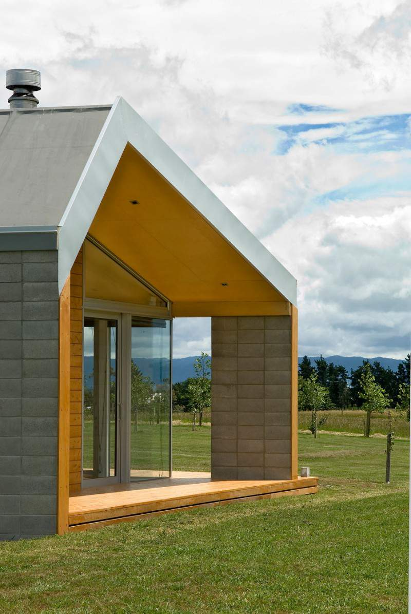 Cornege preston house in martinborough new zealand for Contemporary house designs nz