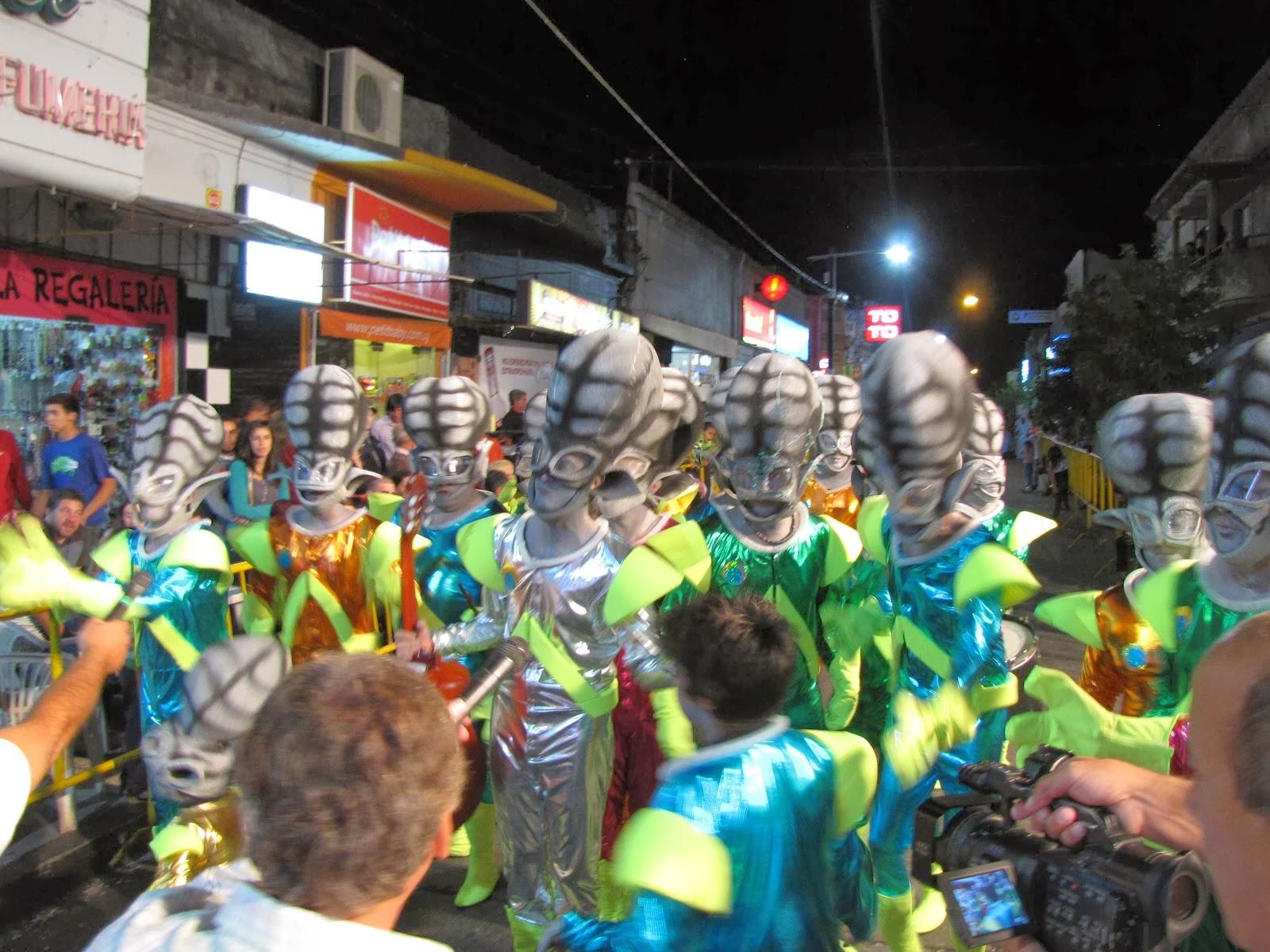 Desfile inaugural carnaval 2013, Florida.