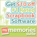Great discounts on scrapbooking!