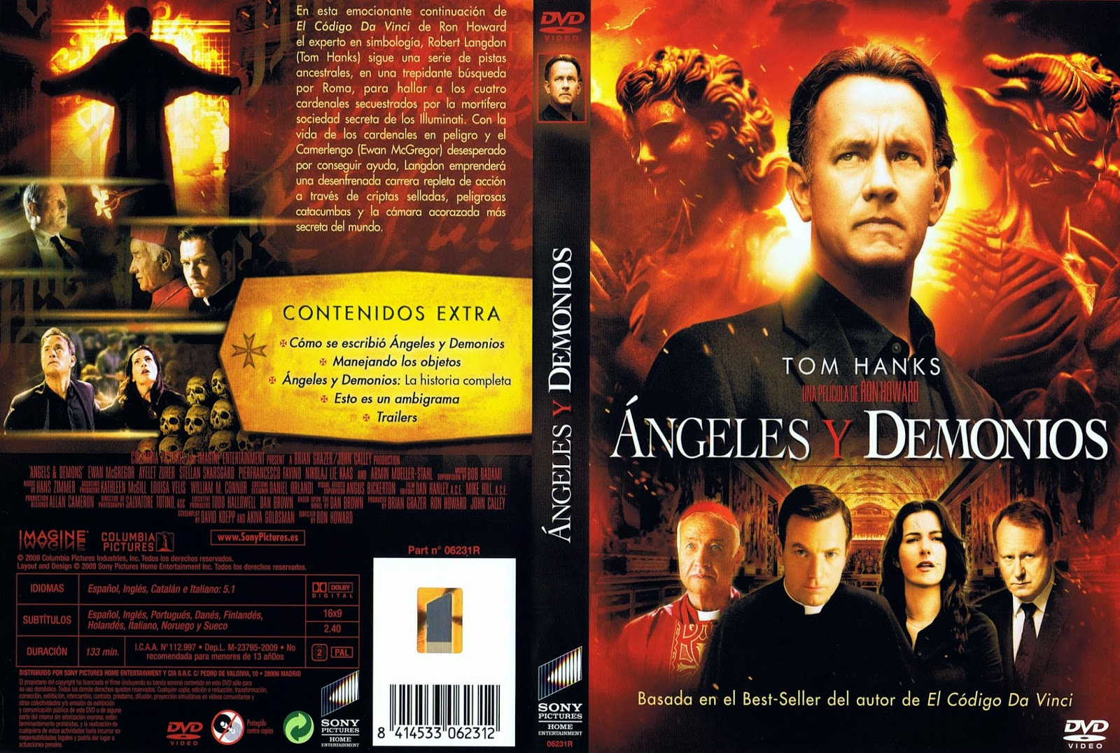 Angeles y Demonios DVD