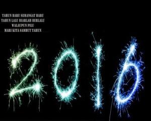 Kumpulan DP BBM Ucapan Selamat Tahun Baru 2016 Terlengkap