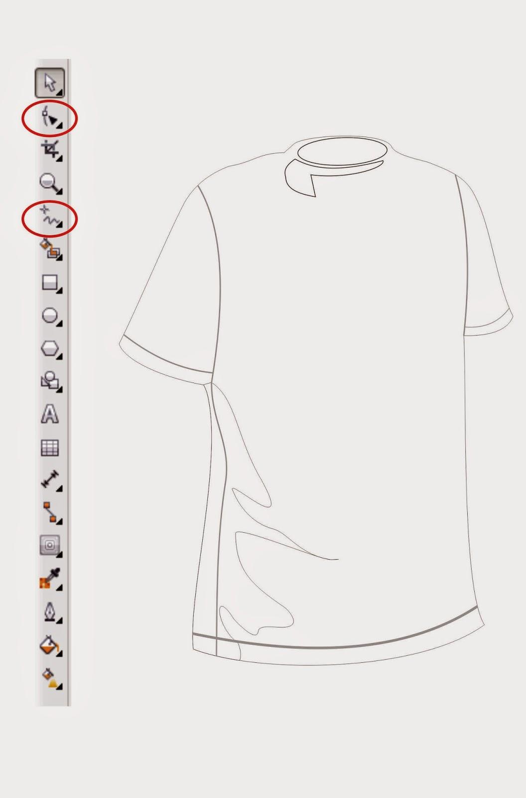 Menambah detail pada Kaos