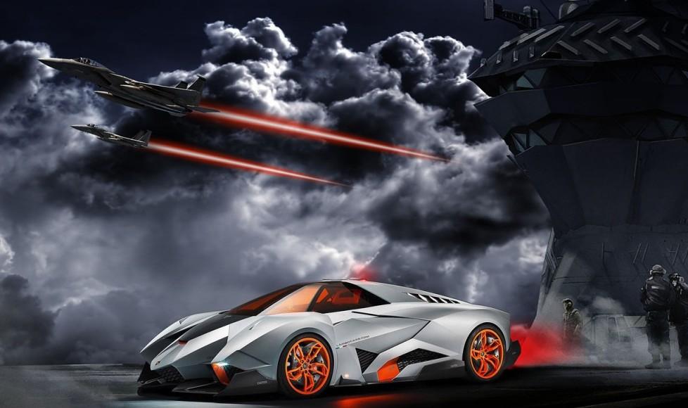 Carnation Auto Blog: Lamborghini Egoista – The Most Awesome Thing ...