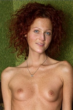 """Abby in """"Natural Red"""" at MPL Studios"""