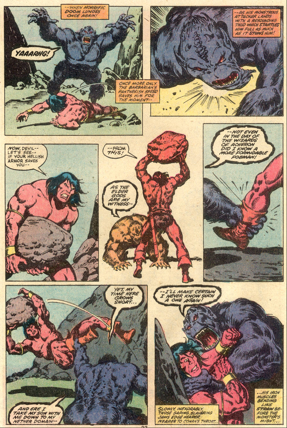 Conan the Barbarian (1970) Issue #113 #125 - English 16