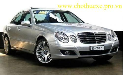 Cho thuê xe 4 chỗ Mercedes Benz E280 sang trọng